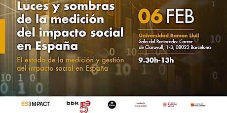 Luces y sombras de la medición del impacto social en España entradas