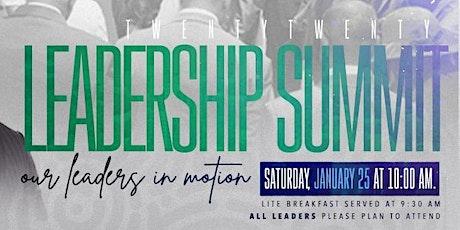 2020 Leadership Summit tickets