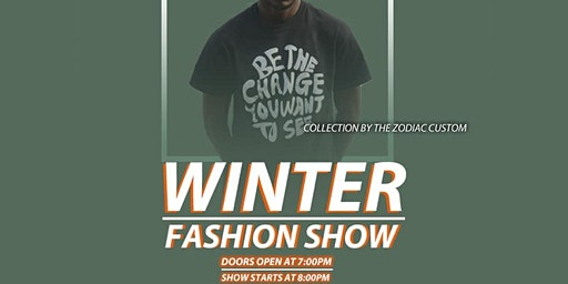 WINTER FASHIONS SHOW/ AFTER PARTY