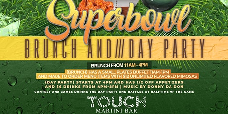 SUPER BOWL BRUNCH & DAY PARTY tickets