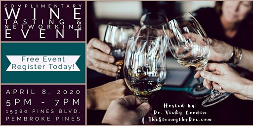 An Evening of Wine Tasting & Networking