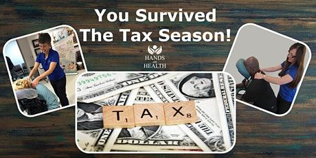Surviving the Tax Season - Complimentary Chair Massage tickets