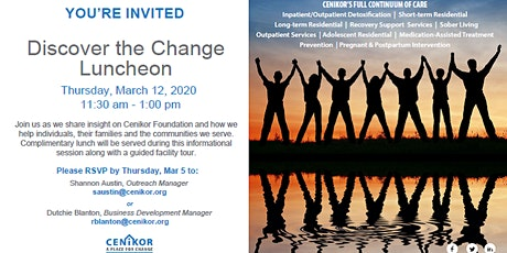 Discover The Change Spring Luncheon tickets