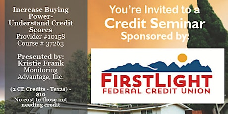 FLFCU Credit Seminar 3.20.20 tickets
