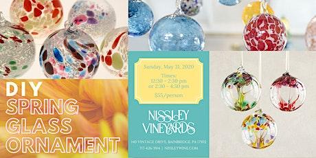 Spring Glass Ornament Workshop tickets