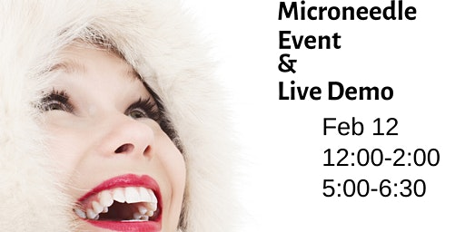 Microneedle Event is HERE! Don't miss LIVE DEMOS & EXCLUSIVE PRICING!