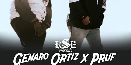 Genaro Ortiz x Pruf Live tickets