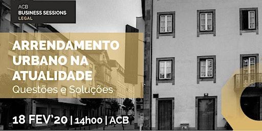 Workshop Arrendamento Urbano na Atualidade – Questões e Soluções