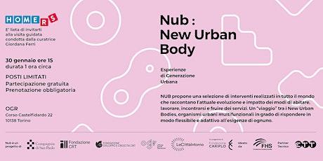Visita guidata alla mostra Nub: New Urban Body tickets