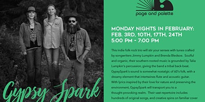 Gypsy Spark - Live Music Monday Nights in Feb.