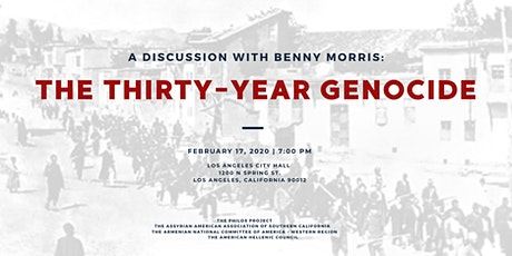 The Thirty-Year Genocide: A Discussion with Benny Morris tickets