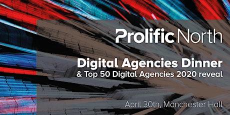 Digital Agencies Dinner tickets