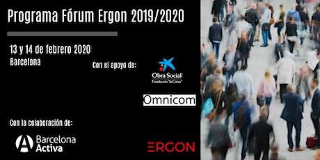 Programa Fórum Ergon 2019/2020 impulsado por Fundación Ergon tickets