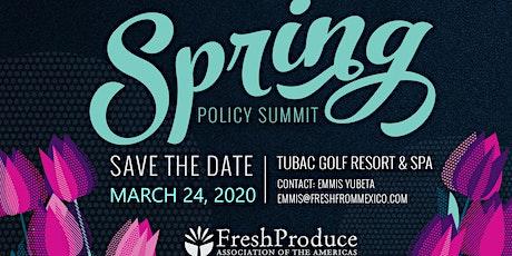 FPAA Spring Policy Summit 2020 boletos