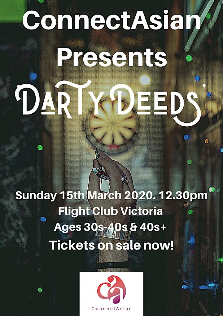 ConnectAsian Presents 'Darty Deeds' - Flight Club Victoria image
