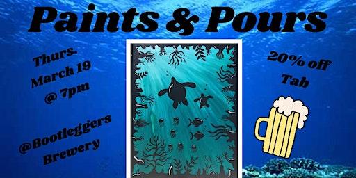 Paints & Pours: Under The Sea