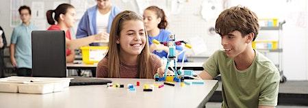Robotics: Mit LEGO® Spike Prime einen Greifarm entwickeln (Girls Day)