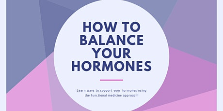 How To Balance Your Hormones tickets