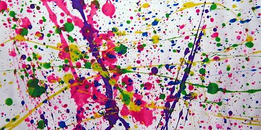 """Le """"dripping"""" technique de peinture"""