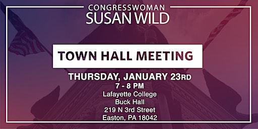 January Town Hall Meeting with Congresswoman Susan Wild