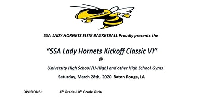 """Kickoff Classic VI,""powered by SSA Lady Hornets Elite"