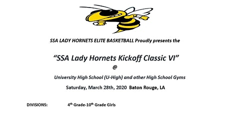 """Kickoff Classic VI,""powered by SSA Lady Hornets Elite  tickets"