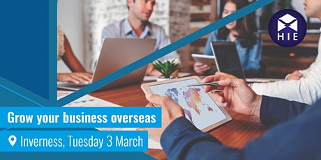 Grow Your Business Overseas - Inverness tickets