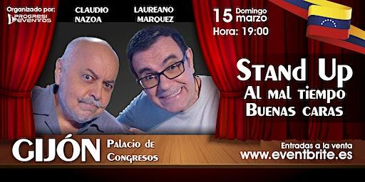 Laureano Marquez y Claudio Nazoa en Gijon