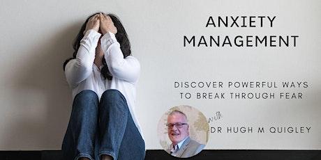 Anxiety Management Workshop tickets