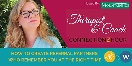 [TCCH] How to create referral partners who remember you at the right time tickets