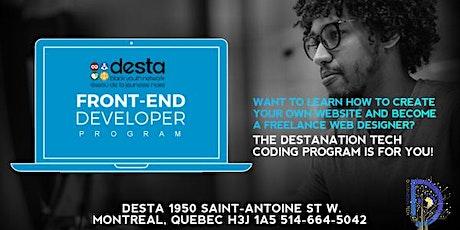 Destanation Tech Coding Workshop tickets