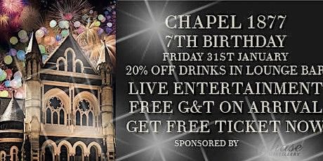 CHAPEL`S 7TH BIRTHDAY tickets