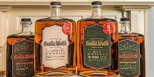 Stoll and Wolfe Distillery Tour and Tasting - 2/29/20 - 2PM Tour