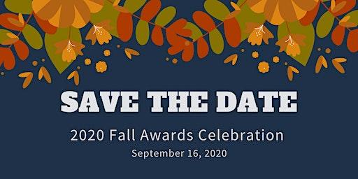 2020 Fall Awards CELEBRATION