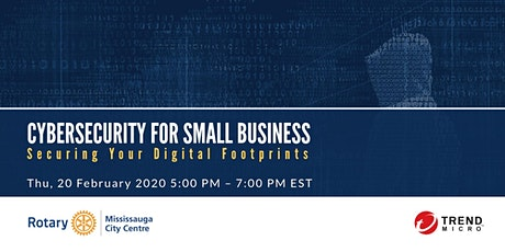 Cybersecurity for Small Business - Securing Your Digital Footprints tickets