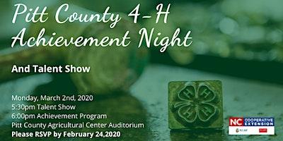 Pitt County 4-H Achievement Night