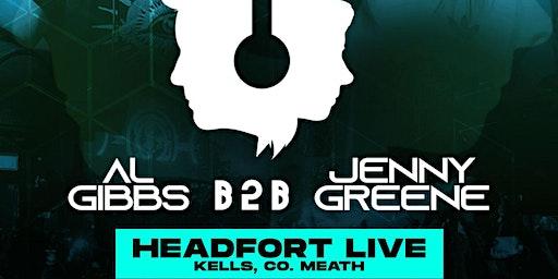 Jenny Greene & AL Gibbs. Headfort Live Kells Co Meath