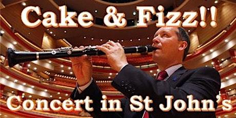 Cake & Fizz! Celebration Concert in St John's tickets