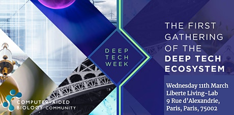 Computer-Aided Biology Community showcase and networking: Deep Tech Week tickets