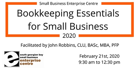 Bookkeeping 101 - Essentials for Small Business 2020 tickets