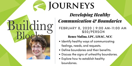 Developing Healthy Communication & Boundaries tickets