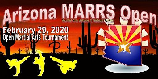 2020 AZMARRS Open Karate Tournament