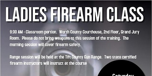 Ladies Firearm Class