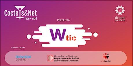 """Coctels&Net Especial  WTic """"Presentació Cercador Visual"""" entradas"""