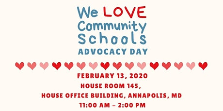 We Love Community Schools Advocacy Day tickets