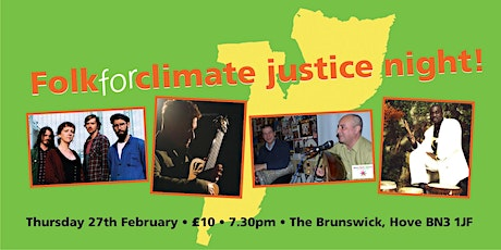 Folk for Climate Justice - Jamal & Alaa/ Musa Mboob/ Bird in the Belly/ Richard Durrant tickets