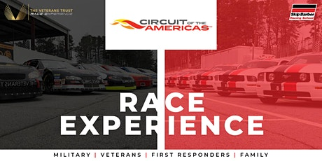 VETERANS RACE EXPERIENCE - Circuit of the Americas tickets