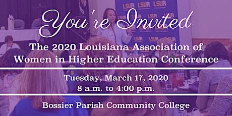 2020 Louisiana Association of Women in Higher Education (LAWHE) tickets