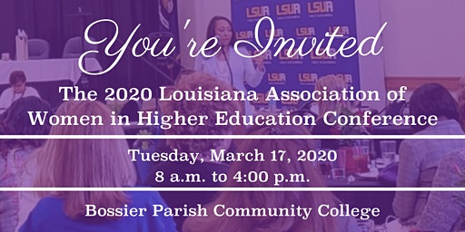 2020 Louisiana Association of Women in Higher Education (LAWHE)