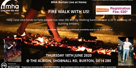 BLAZE UK FUND RAISING FIRE WALK tickets